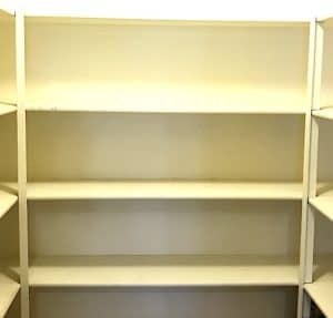 Reorganize a walk-in pantry