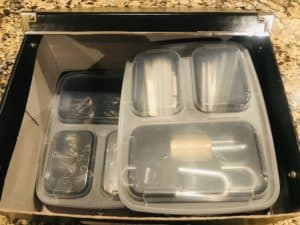 Storage Box Meal Prep Organizer