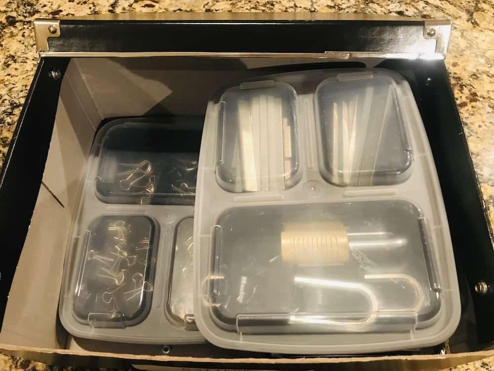 Storage Box Meal Prep Organizer
