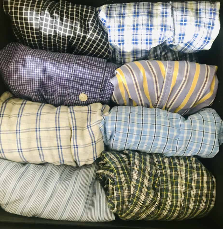 Organizing Ideas For Bedrooms - File Folding Boxers