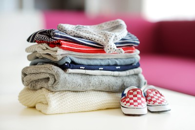 Nursery Organization: Baby Clothes