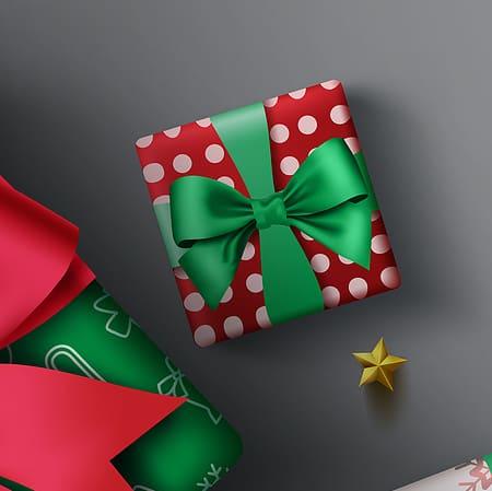 Organized Christmas: Gift Wrap organization ideas