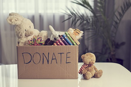 Organize a Teen's Bedroom: Donate Used Items