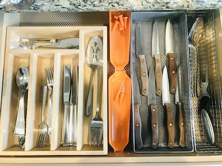 Organize Kitchen Drawers - Cutlery