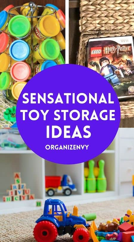 Toy Storage: Sensational Ideas For Organizing the Playroom