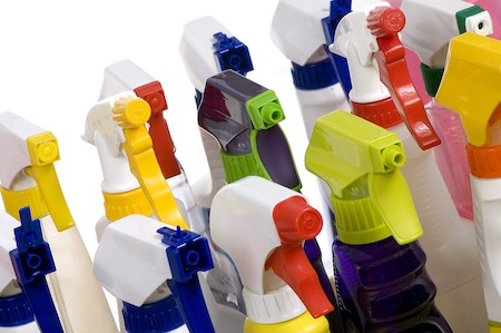 Organize Under the Kitchen Sink: Dispose of Household Chemicals